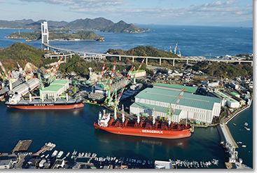 今治造船がJMUへ出資・業務提携ー国内造船再編「最終段階」に