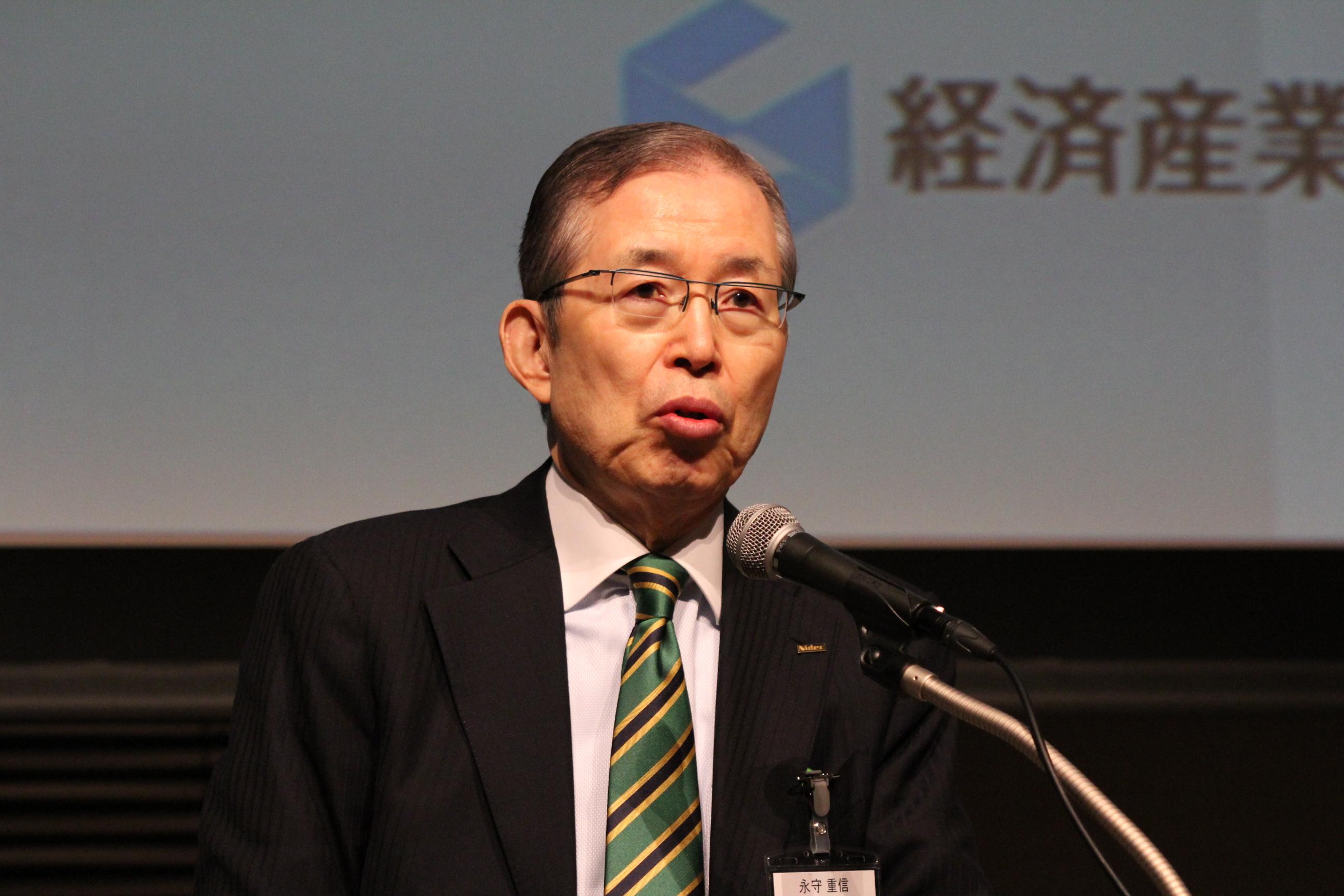 永守重信 日本電産会長兼社長 強い企業を作るためにはM&Aの活用が大切