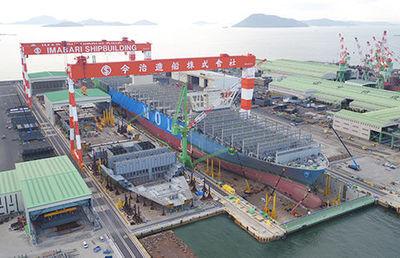 【今治造船】「大手も沈む」構造不況で中堅造船所が成長した理由