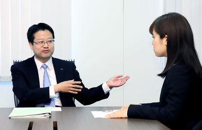 エア・ウォーター 北川裕二執行役員経営企画部長に聞く MAOガールインタビュー(6)