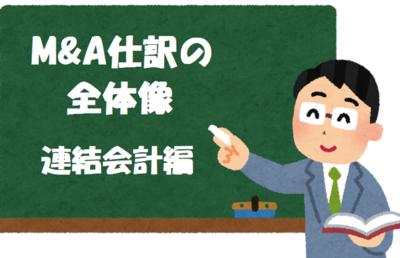 【M&A仕訳】全体像(連結会計編)