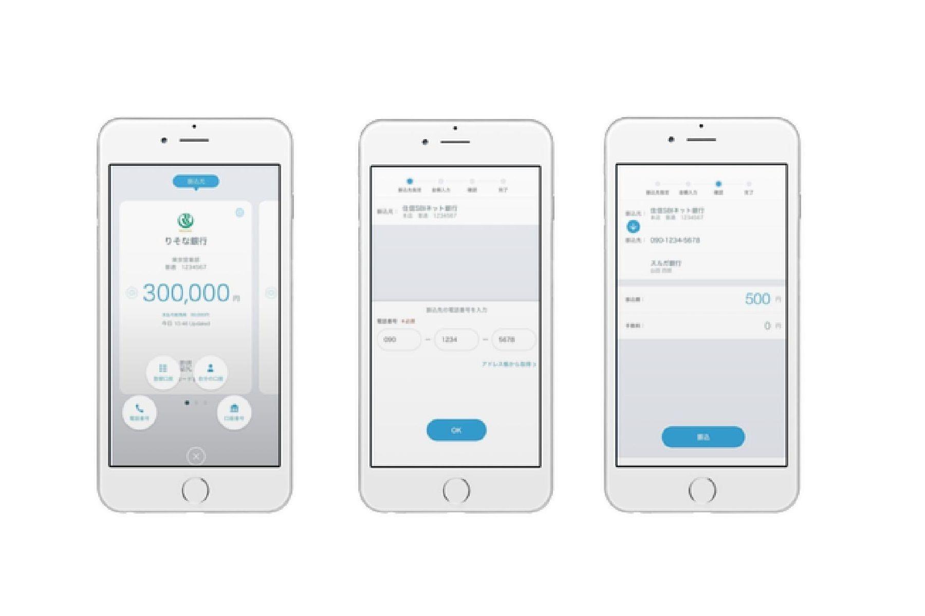 携帯電話で送金可能な新サービス 「ブロックチェーン」で実現