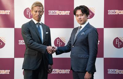 「仮想通貨」のPRに本田圭佑、香川真司両選手が登場