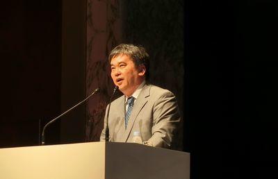 「ハゲタカ・シリーズ」の真山仁さん、中小企業の事業承継で熱弁