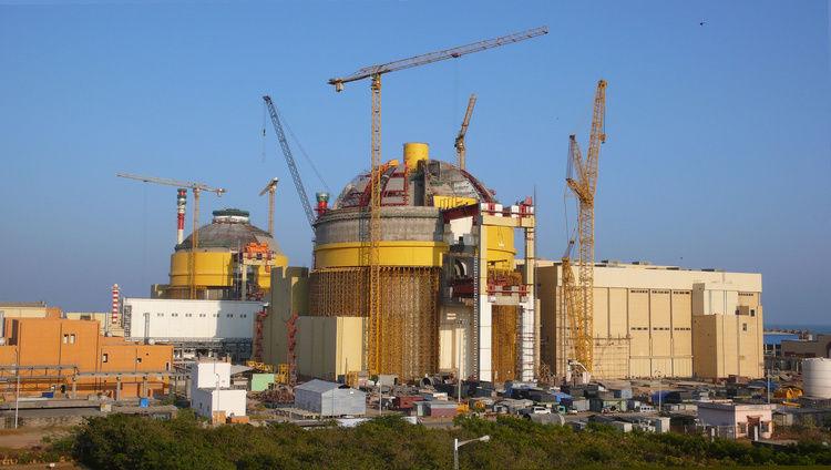 建設中の原発