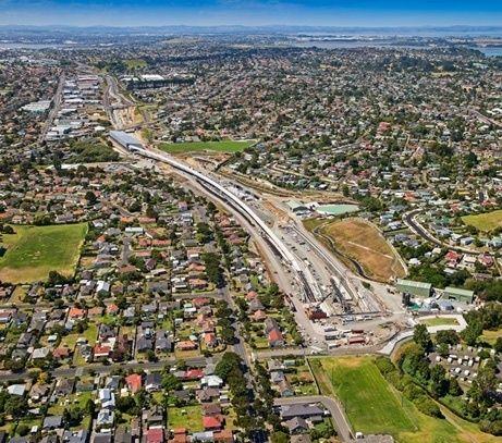 ウォータービューコネクショントンネルおよび グレートノースロードインターチェンジ建設工事