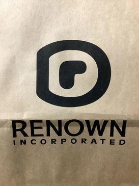 ※レナウンのロゴ(TSR撮影)