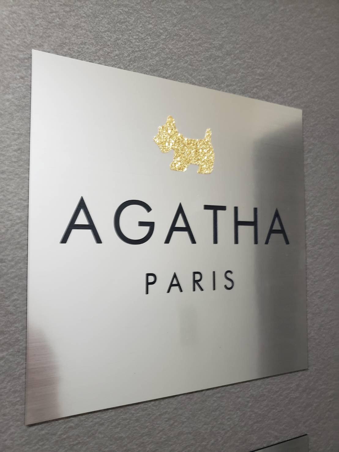 アガタジャポン(株)のロゴ
